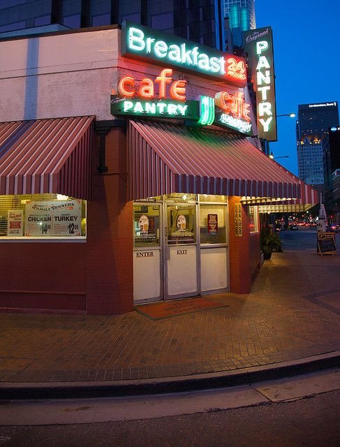 The Original Pantry Cafe Los Angeles Restaurants Breakfast Cafe The Originals