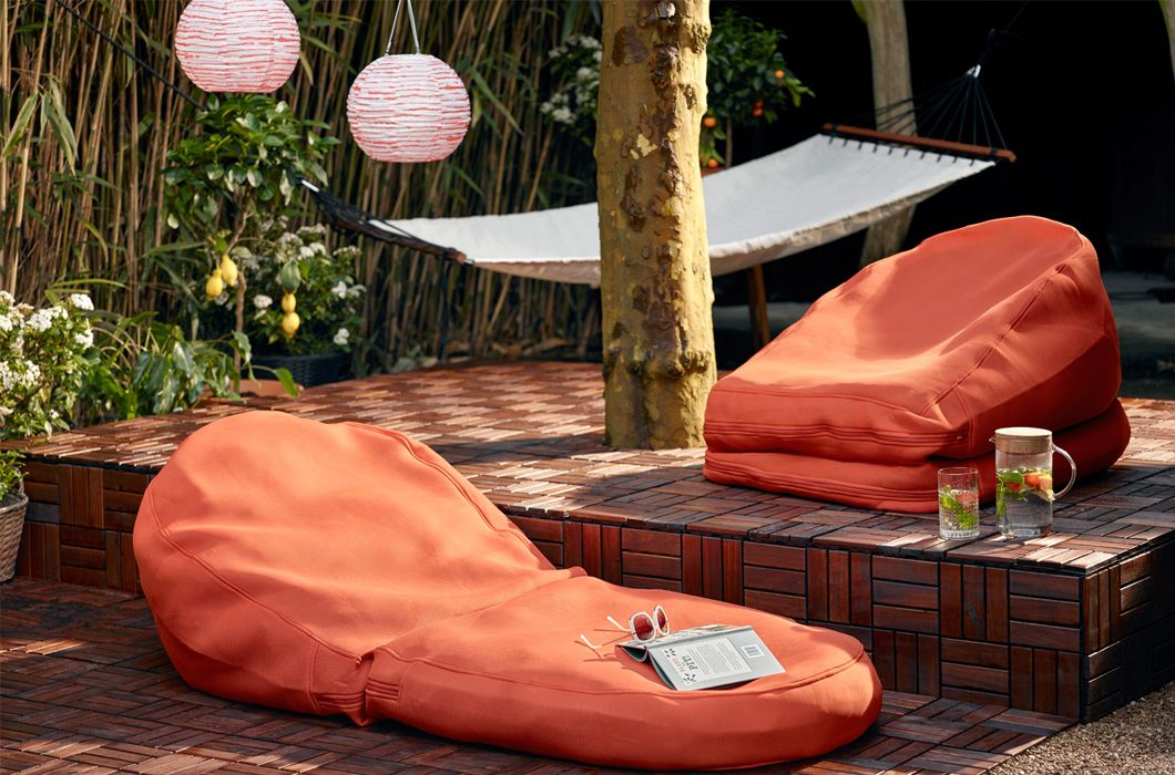 Ikea Zitzak Buiten.Tuin Balkon Inspiratie Om Je Tuin In Te Richten Ikea