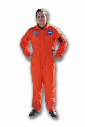 29ec95de2dd2 Adult Flight suit - Assorted Colors NASA Kennedy Space Center Halloween  Costumes - Astronaut Orange or Blue.