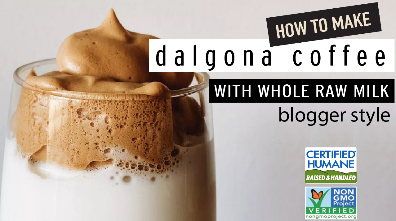 This Dalgona Coffee drink is the toast of Instagram