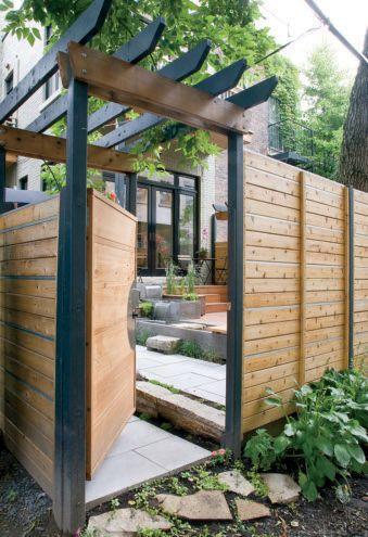 44++ Pergola jardin de ville ideas