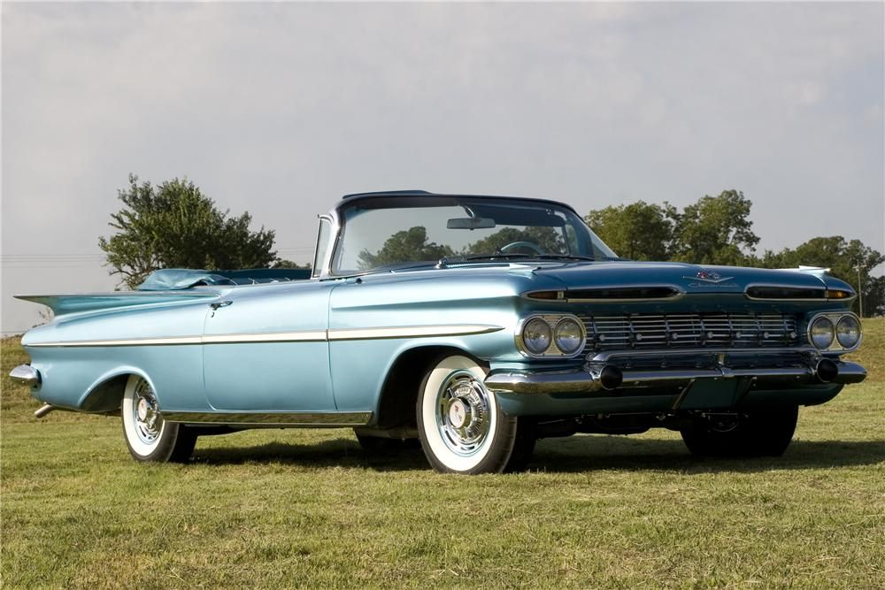 1959 Impala Convertible Maintenance/restoration of old/vintage ...