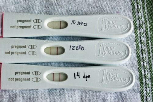 False negative pregnancy test while clomid