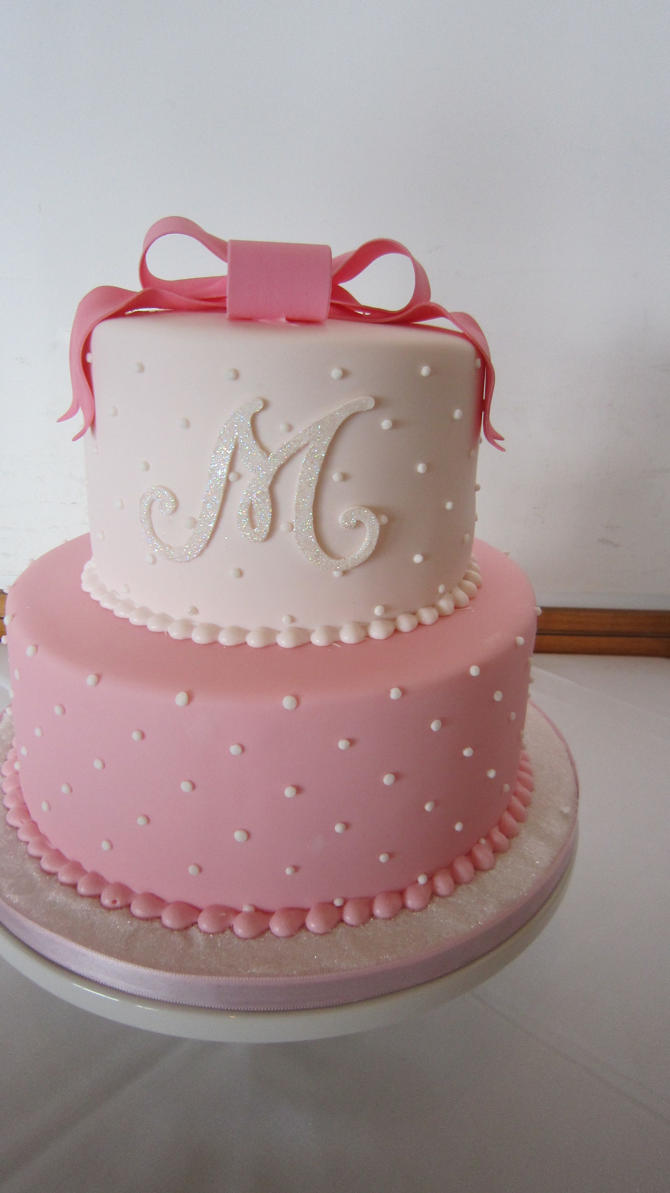 Possible cake?? Just bottom tier
