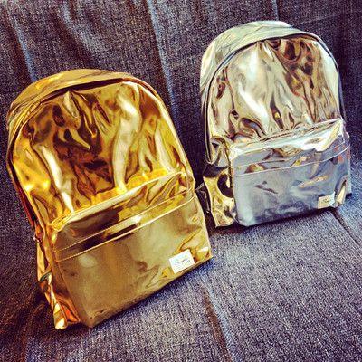 Harajuku Metallic Bags