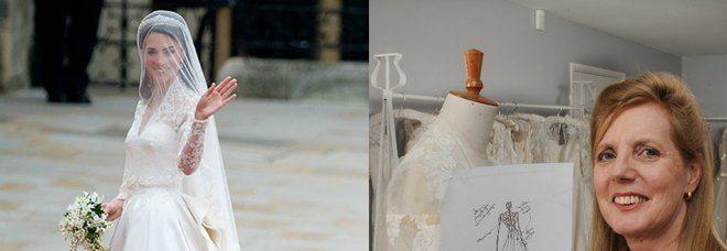 LONDRA Guai per la stilistaAlexander McQueen, che avrebbe copiato da un'altra stilista l'abito da sposa indossato dalla Duchessa di Cambridge Kate Middleton