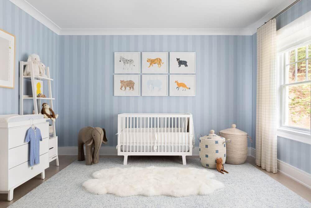 30 Baby Boy Nursery Design Ideas Photos Room Decor