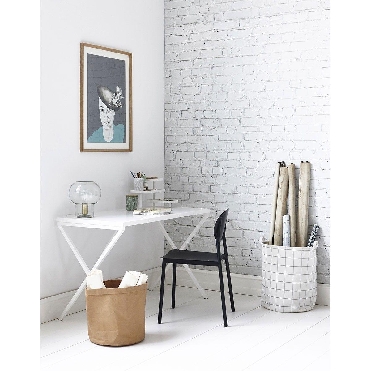 Bureau Tray Blanc House Doctor Meuble Maison Mobilier De Salon Deco