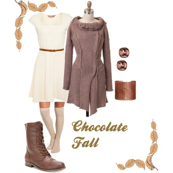 """""""Chocolate fall"""" by adelines77 on Polyvore"""