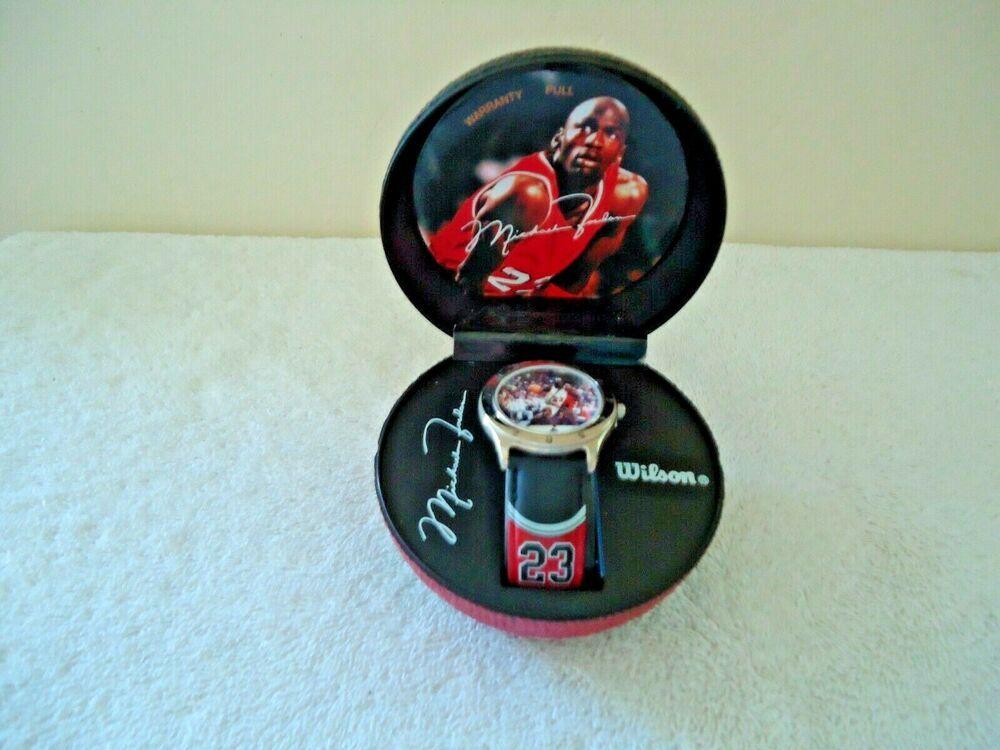 Details about Wilson Michael Jordan Wristwatch In
