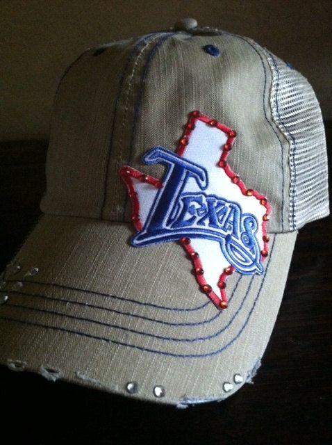 Womens Texas Hat by GoodHeartedMama on Etsy 0011169f84