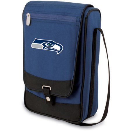 Picnic Time Barossa, Navy Seattle Seahawks Digital Print, Blue
