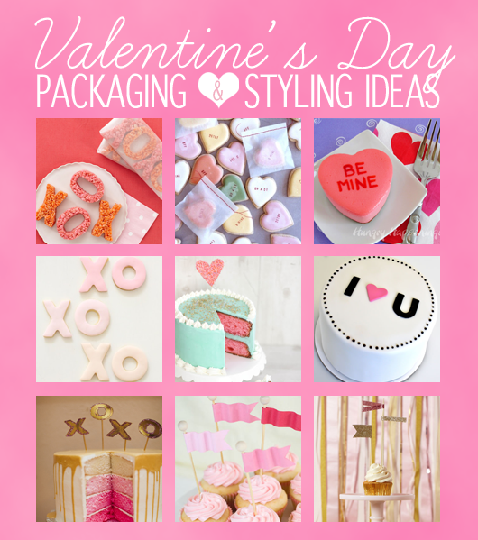 Cute dessert styling and packaging tips for Valentine's Day