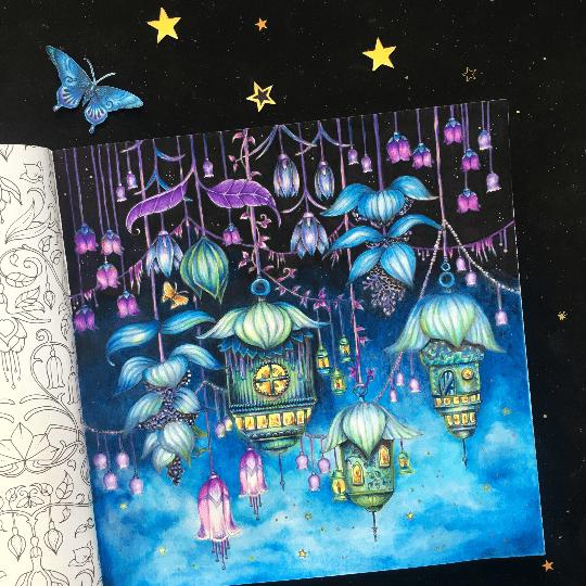Irena97 11 11 2018 Johanna Basford Colouring Gallery Coloring Book Art Basford Coloring Book Colorful Drawings