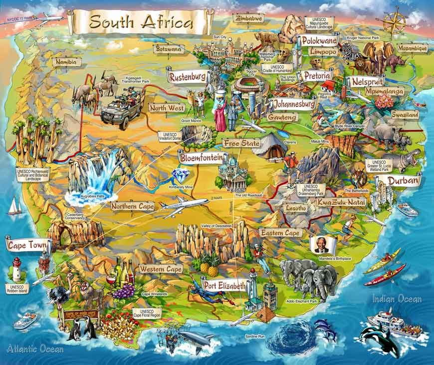 Image result for south africa sightseeing | MAPS INFO GRAPHS
