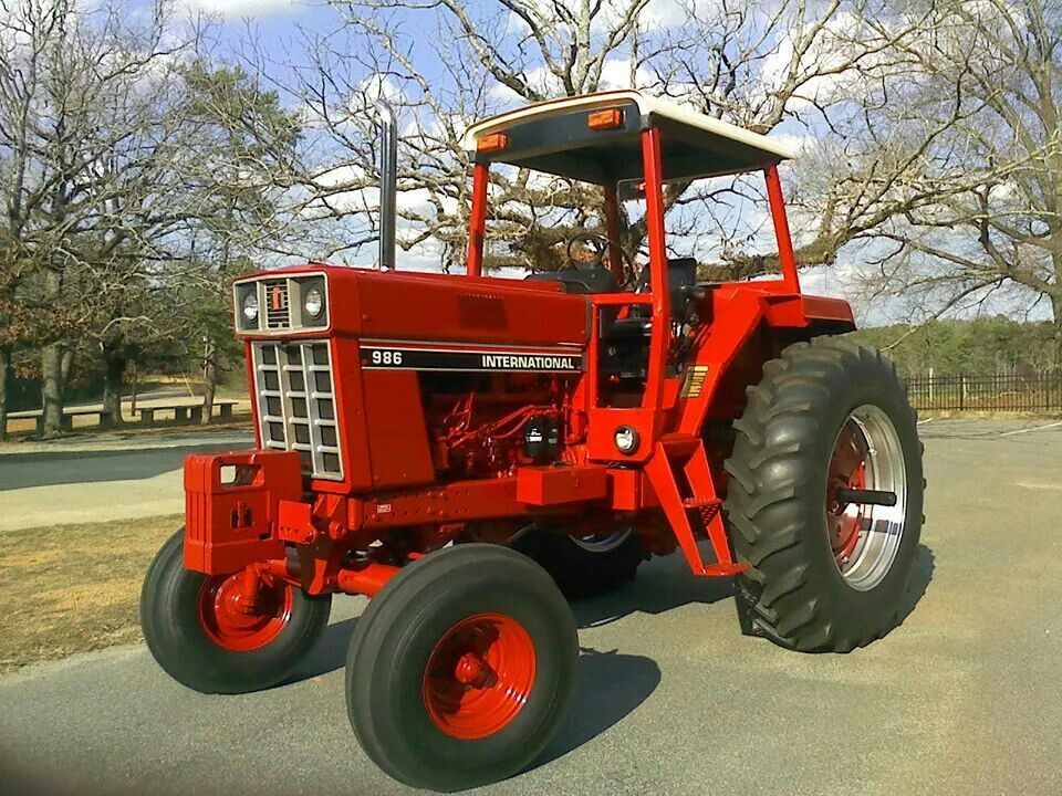 International Harvester 986 Tractor : Ih farmall pinterest tractor and