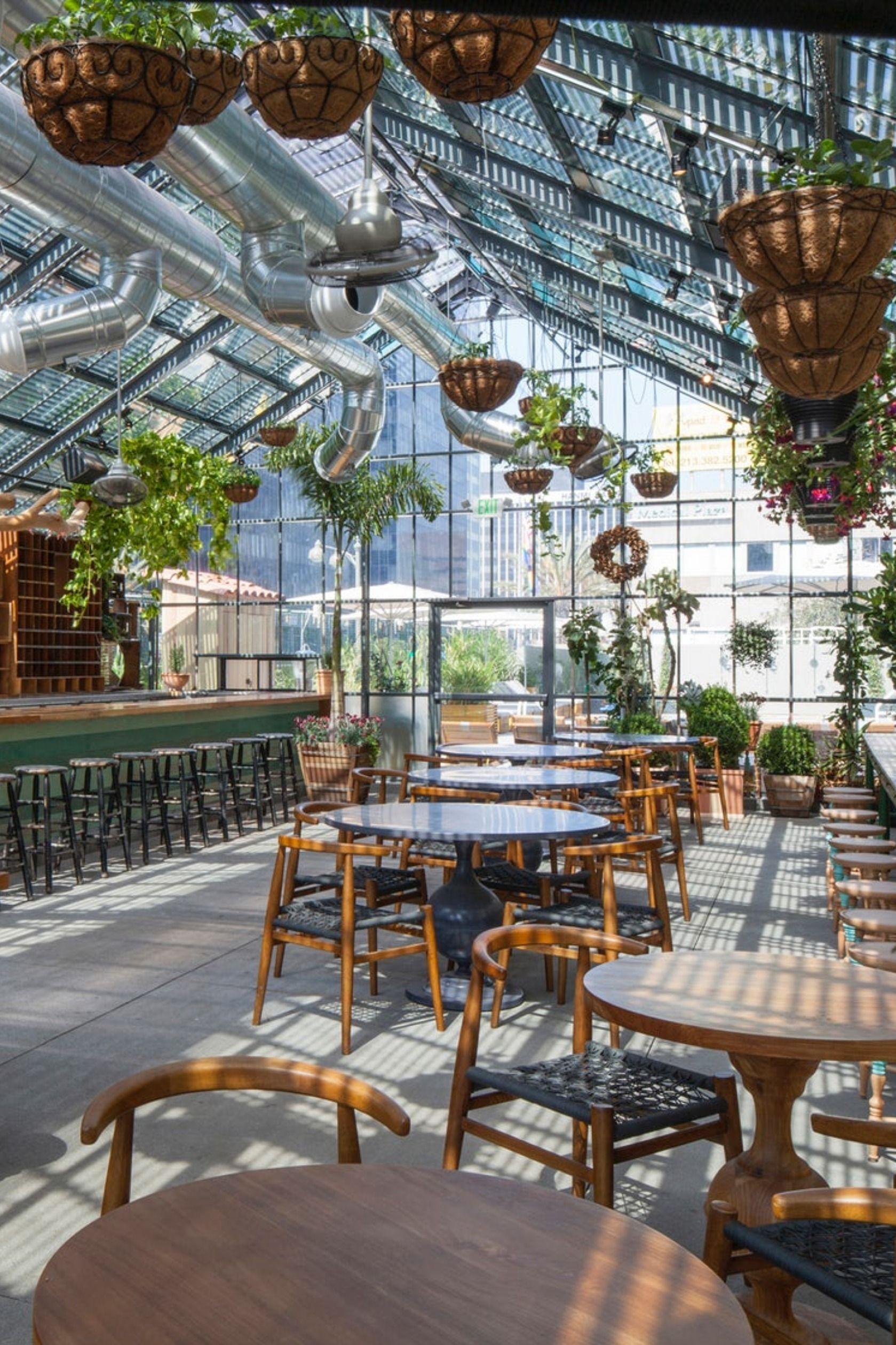 Celebrity Chef And Restaurateur Roy Choi S Culver City A Frame Serves Up Hawaiian Inspired S Restaurant Interior Design Vegetarian Restaurant Modern Restaurant