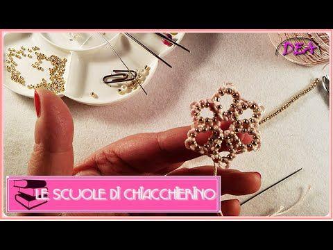 15°Tutoria di Chiacchierino ad Ago: Le perline tra i nodi.