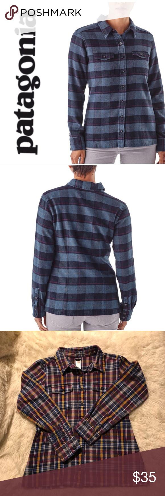 Womenus LongSleeved Fjord Flannel Shirt  Flannel shirts Flannels
