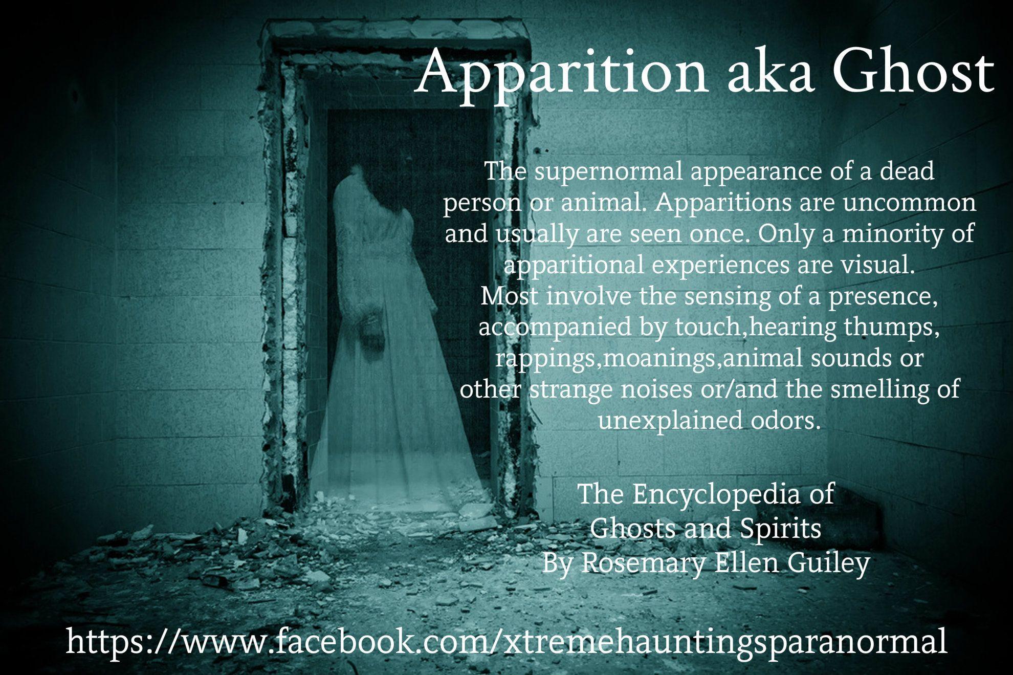 Mind + Psyche + Spirit: Apparition Aka Ghost Definition | #mindpsychespirit  #apparitions #