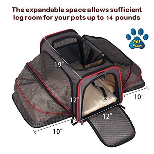 Expandable Pet Carrier Airline Approved Designed For