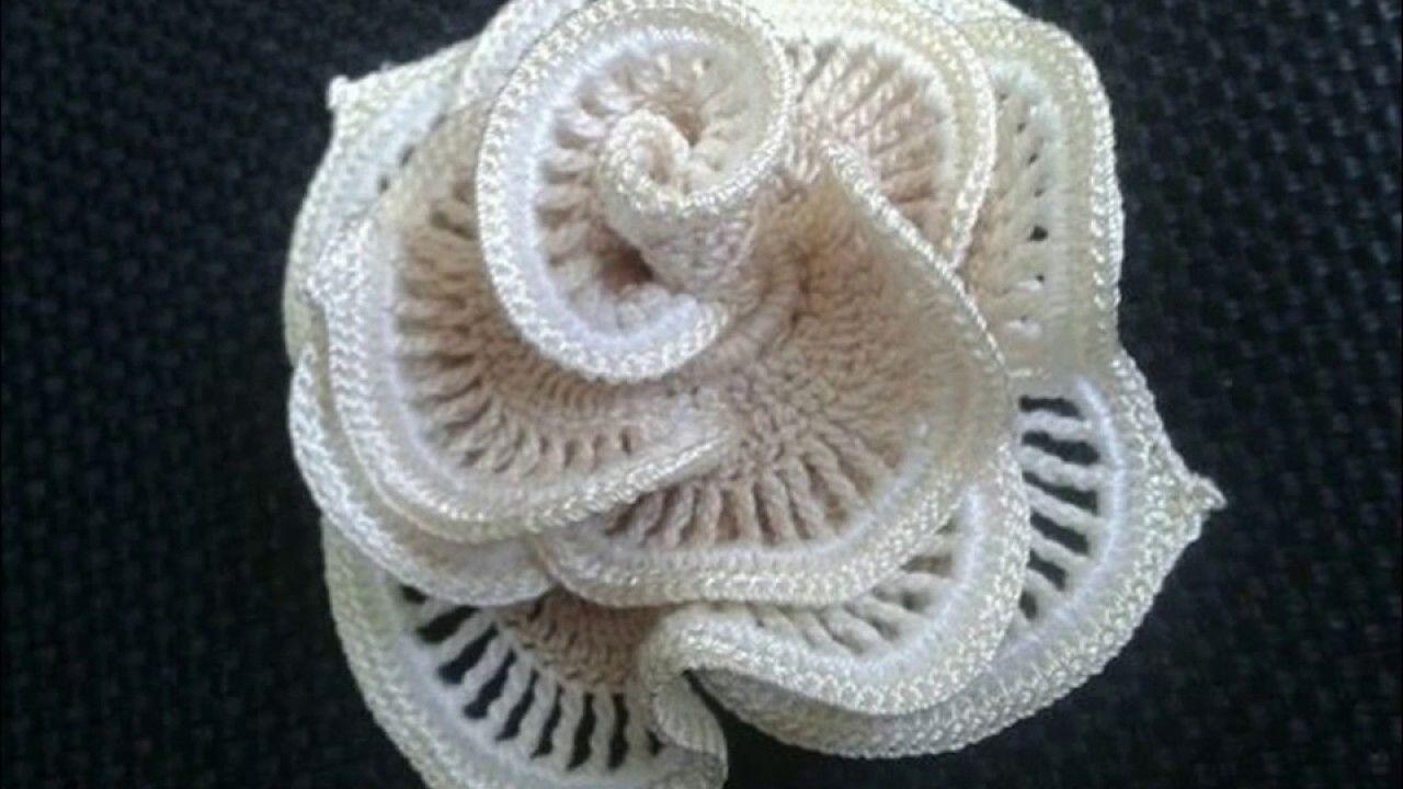 Flores modernas a crochet 2017 | CROCHET Y PUNTO | Pinterest ...
