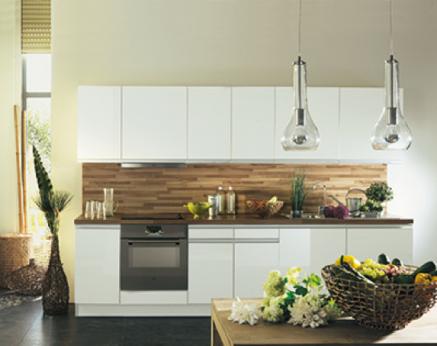 Cuisine Blanche Idées Déco Pour Sinspirer Cuisine - Facade pour meuble de cuisine pour idees de deco de cuisine