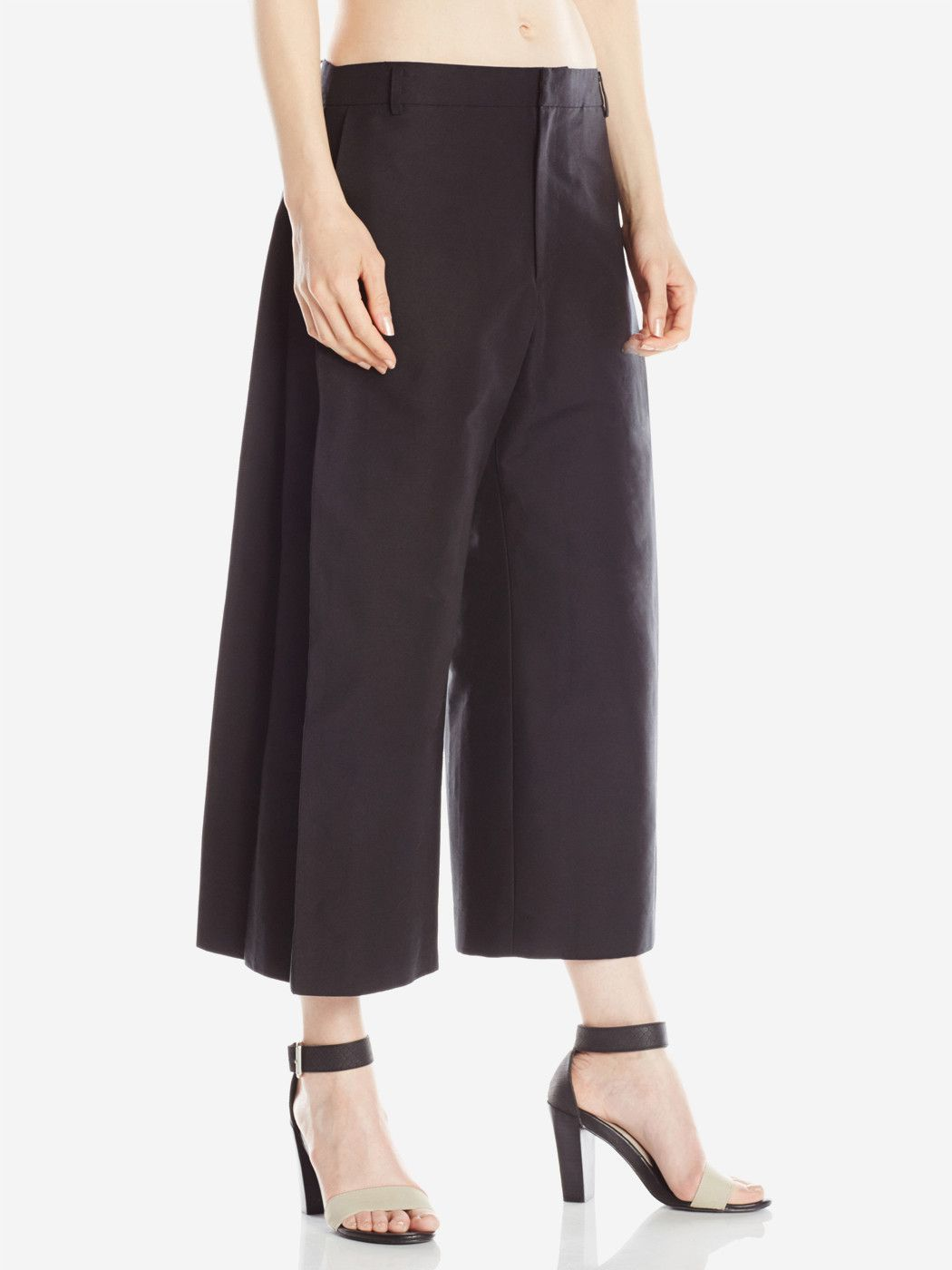 c778da3742957 Side Pleat Pants Black. Find this Pin and more on Wide Leg ...