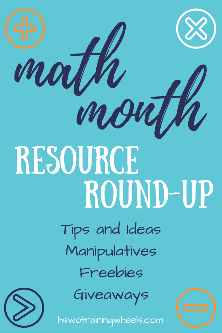 Math Month Resource Roundup | Math, Homeschool math and Math resources