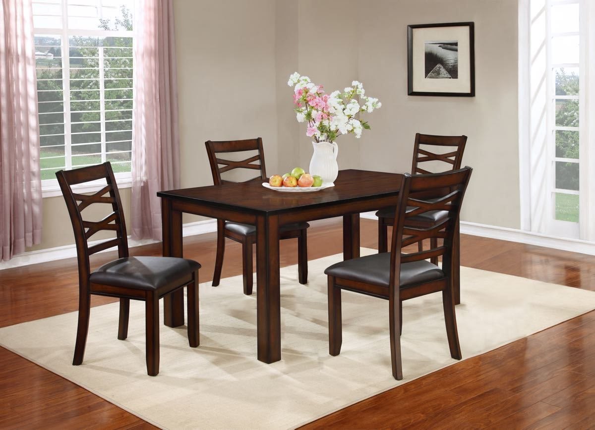 Mango 5 Piece Dinette Table And 4 Chairs By Lifestyle Furniture