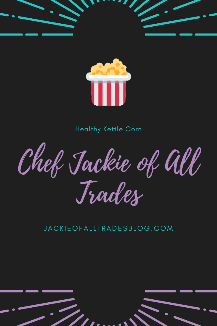 Try out this healthy homemade kettle corn. It only has 4 ingredients and it absolutely delicious and easy to make.