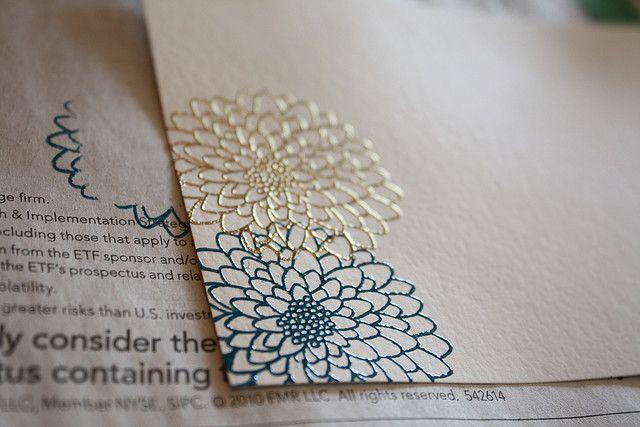 Embossing Tutorial Embossed Paper Diy Stationary Embossed