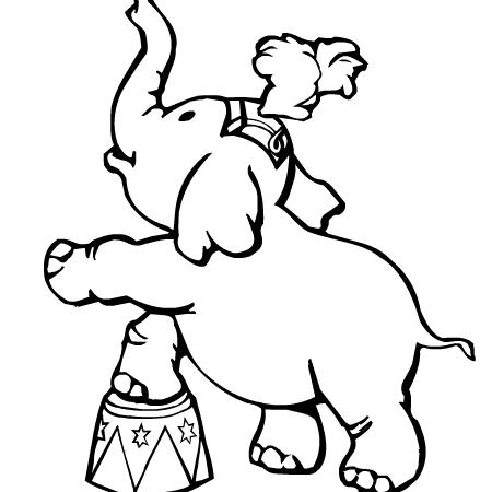Dessin cirque a colorier dessin colorier et dessin non - Coloriages cirque ...