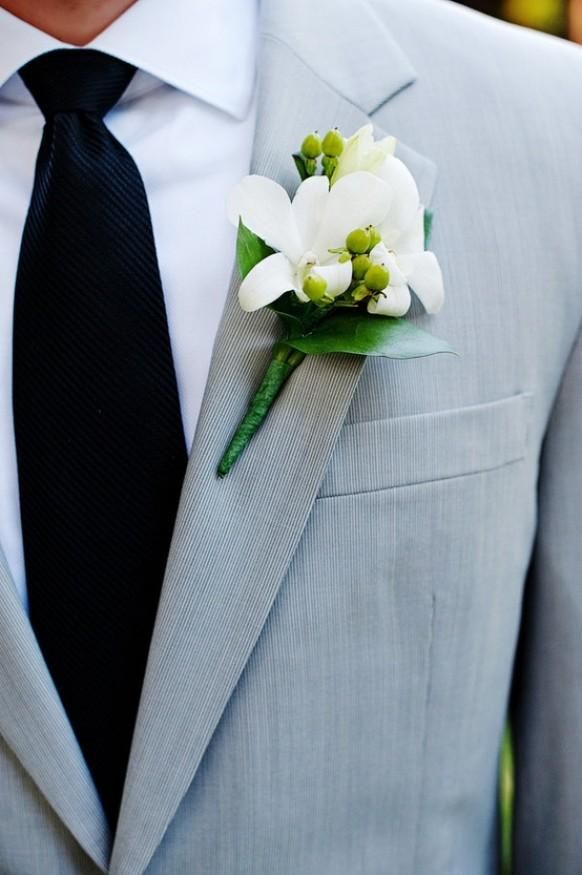 weddbook �� gray wedding suit black tie and white fresh