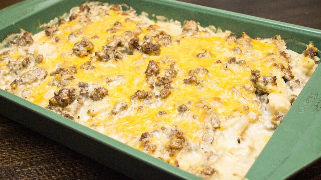 Fakertot casserole - low carb substitute for tatertot ...