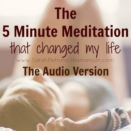 Guided erotic meditation