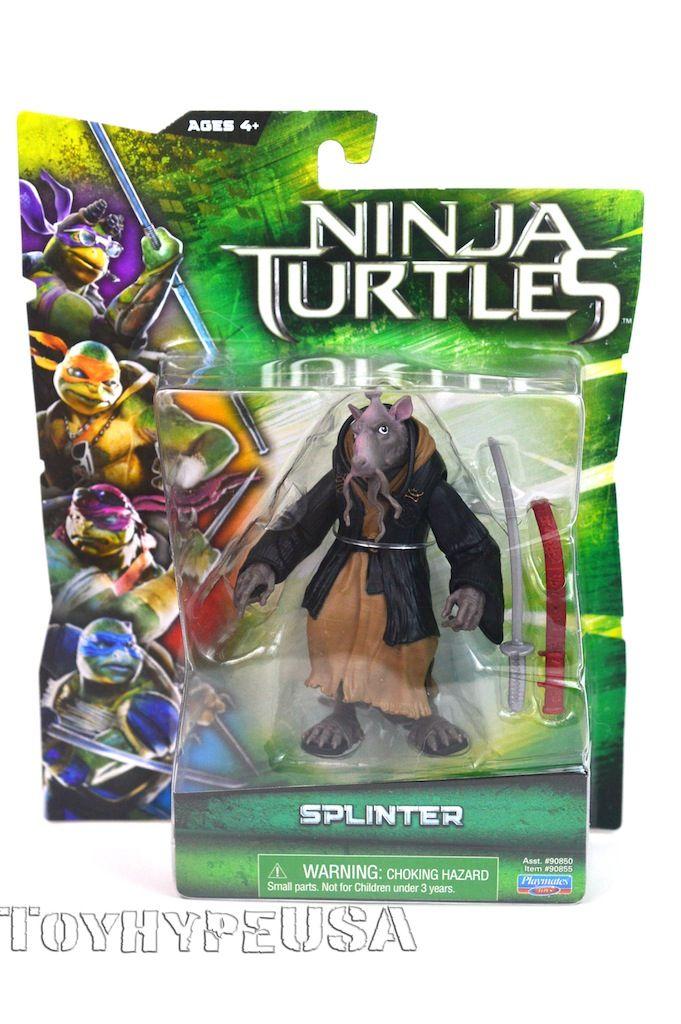 Teenage Mutant Ninja Turtles 2014 Movie Splinter Figure Review Toy Hype Usa Ninja Turtles 2014 Teenage Mutant Ninja Turtles Teenage Mutant Ninja Turtles Movie