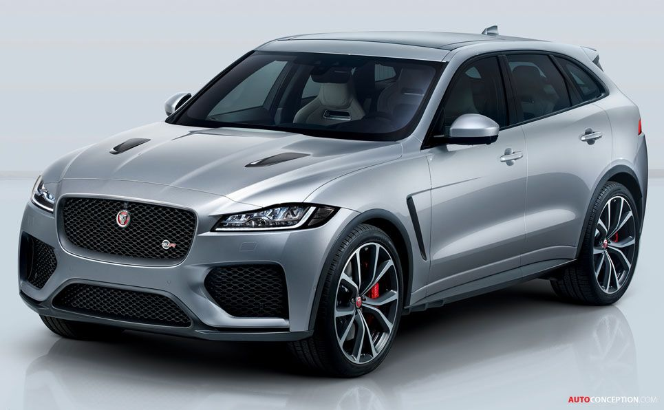 New Jaguar F Pace Svr Becomes British Brand S Fastest Ever Suv Autoconception Com Jaguar Car Jaguar Suv New Jaguar