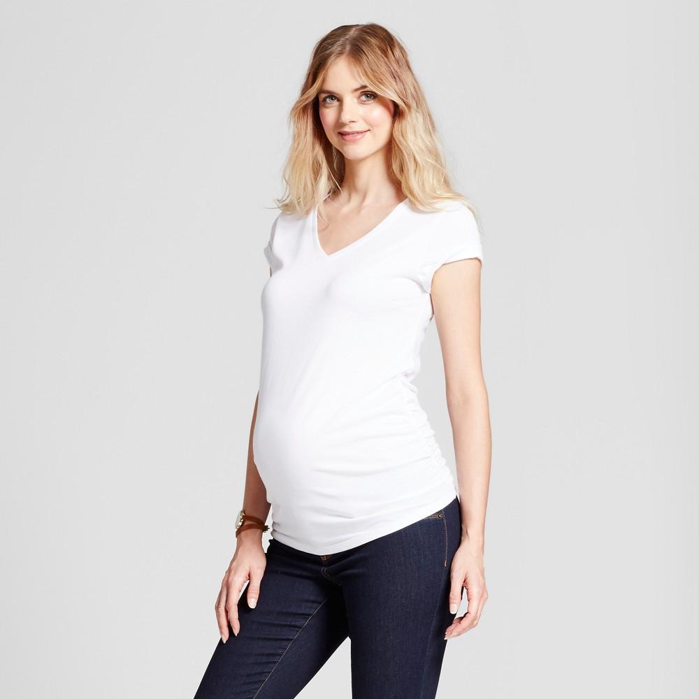c282d1ceb7a9 Target White V Neck T Shirts