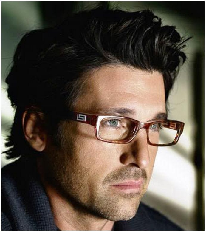 Patrick Dempsey Glasses Toms Hair Asian Men Hairstyle
