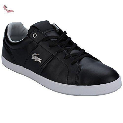 Lacoste Baskets Mode Pour Homme Noir Noir Chaussures Lacoste Partner Link Chaussure Lacoste Mode Homme Lacoste