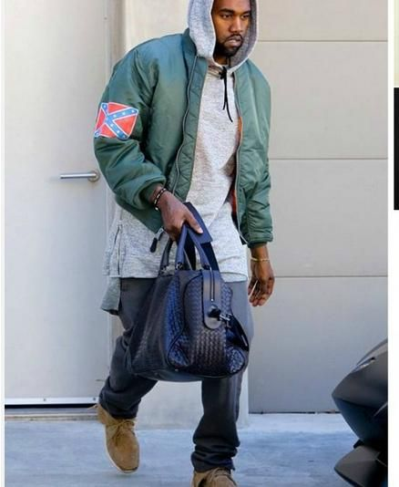 Wholesale Free Shipping Original Kanye West Yeezus Tour Limited Men And Women Bomber Jacket In Khaki Yeezu Kanye West Yeezus Mens Outfits Bomber Jacket Women