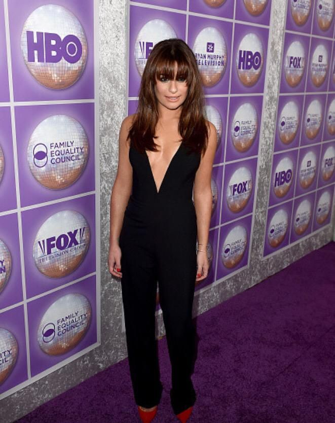 #Glee's msleamichele at the Family Equality Awards Dinner