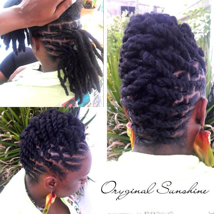 Loc Updo Hairstyles Pinlashanda On All Locs  Pinterest  Locs Dreads And Dreadlock