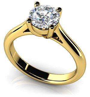 Lily Engagement Ring, 1.5ct Man Made Lab created diamond, $799.00 (http://www.manmadelabdiamonds.com/lily-engagement-ring/) #manmadelabdiamonds #engagementring