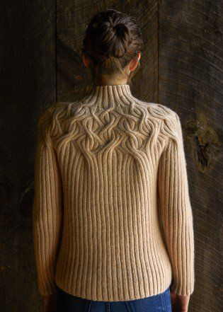 Botanical Yoke Pullover Purl Soho Create Knitting