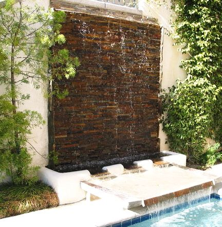 30 Creative Outdoor Backyard Water Walls 06 Diy Tips Tricks Ideas Repair Pinterest Water