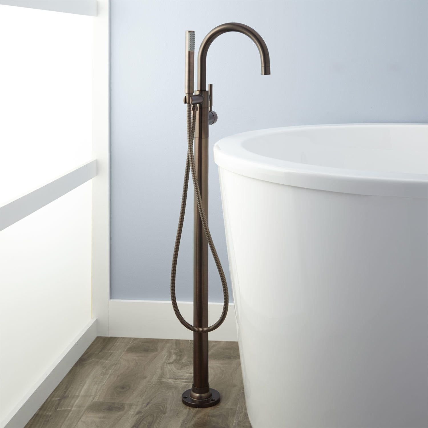 Simoni Freestanding Tub Faucet And Hand Shower Bathroom In 2019