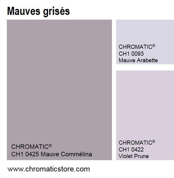 Omniprésents en 2015, en peinture, linge de maison et objets décoratifs (porcelaine particulièrement), les mauves grisés s'associent facilement à des gris colorés ou des beiges.