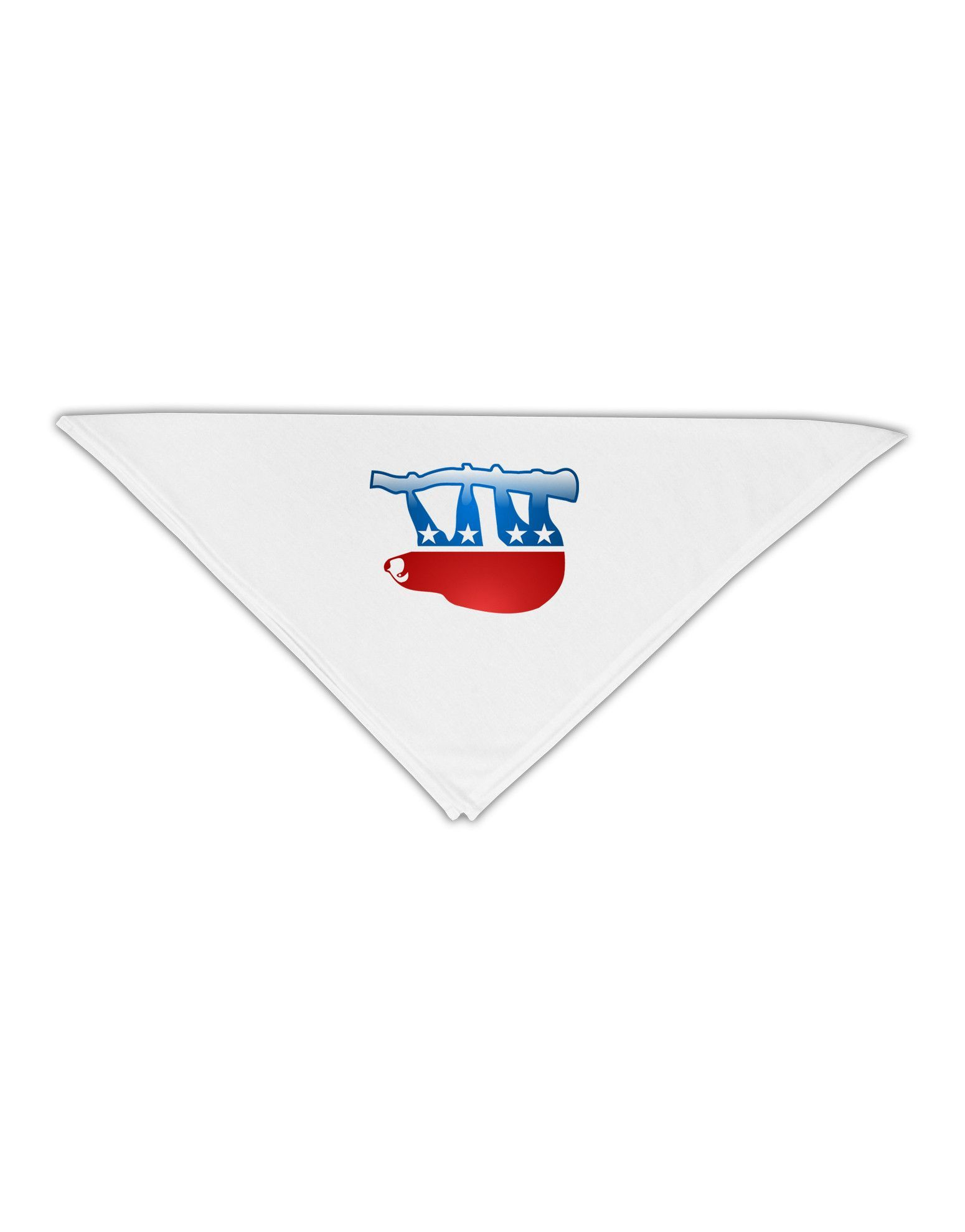 "Sloth Political Party Symbol Adult 19"" Square Bandana"